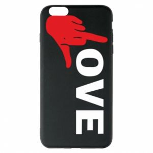 Etui na iPhone 6 Plus/6S Plus Fuck love