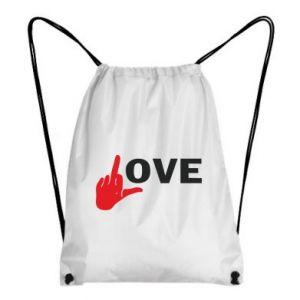 Plecak-worek Fuck love