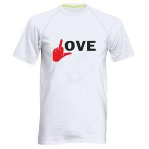 Koszulka sportowa męska Fuck love
