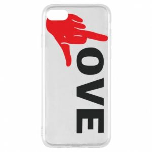 Etui na iPhone 7 Fuck love