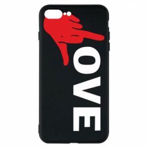 Etui na iPhone 8 Plus Fuck love