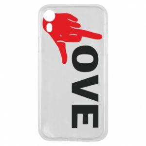 Etui na iPhone XR Fuck love