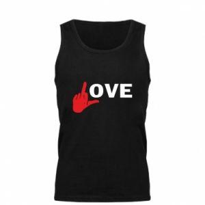 Męska koszulka Fuck love