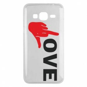 Etui na Samsung J3 2016 Fuck love
