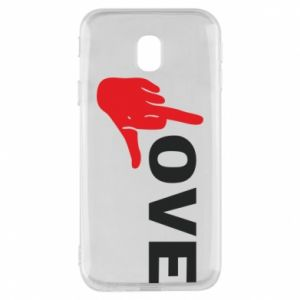 Etui na Samsung J3 2017 Fuck love