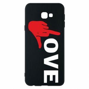 Etui na Samsung J4 Plus 2018 Fuck love