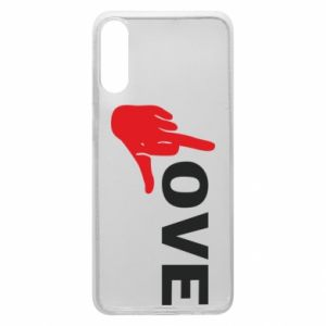 Etui na Samsung A70 Fuck love