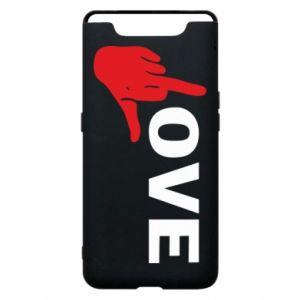 Etui na Samsung A80 Fuck love
