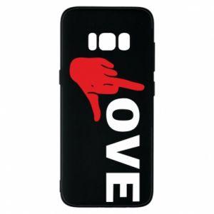 Etui na Samsung S8 Fuck love