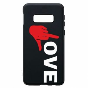 Etui na Samsung S10e Fuck love
