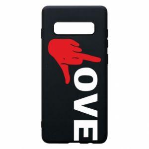 Etui na Samsung S10+ Fuck love