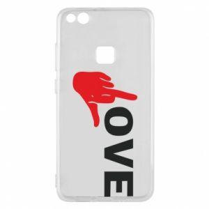 Etui na Huawei P10 Lite Fuck love