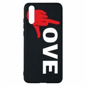 Etui na Huawei P20 Fuck love