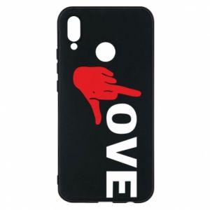 Etui na Huawei P20 Lite Fuck love
