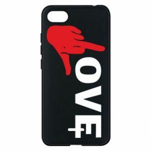 Etui na Xiaomi Redmi 6A Fuck love