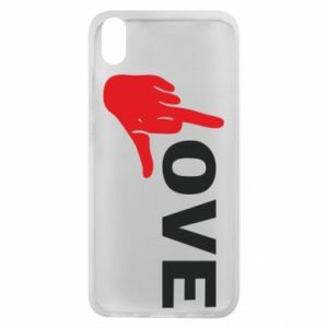 Etui na Xiaomi Redmi 7A Fuck love