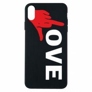 Etui na iPhone Xs Max Fuck love
