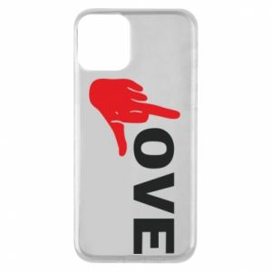 Etui na iPhone 11 Fuck love