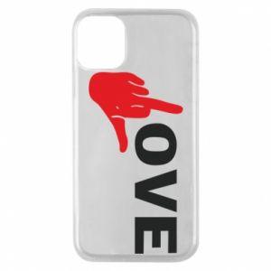 Etui na iPhone 11 Pro Fuck love