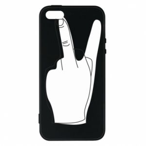 Phone case for iPhone 5/5S/SE Fuck or peace