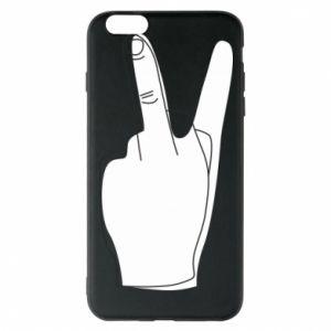 Etui na iPhone 6 Plus/6S Plus Fuck or peace