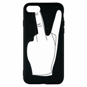 Etui na iPhone 8 Fuck or peace