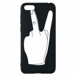Etui na Huawei Y5 2018 Fuck or peace