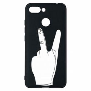 Phone case for Xiaomi Redmi 6 Fuck or peace