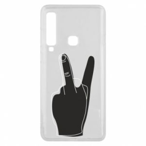 Phone case for Samsung A9 2018 Fuck or peace