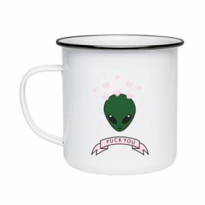 Enameled mug Fuck you
