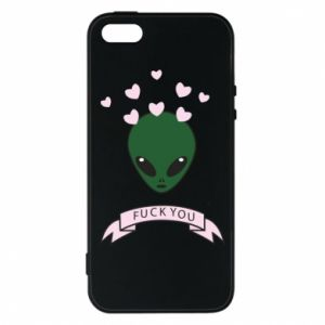 Etui na iPhone 5/5S/SE Fuck you