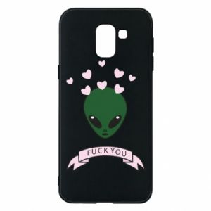 Phone case for Samsung J6 Fuck you