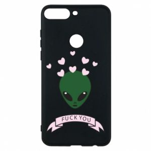 Phone case for Huawei Y7 Prime 2018 Fuck you