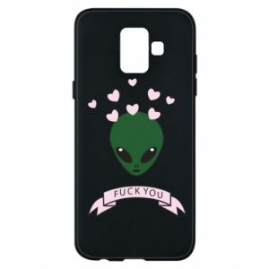 Phone case for Samsung A6 2018 Fuck you