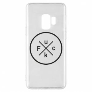 Phone case for Samsung S9 Fuck