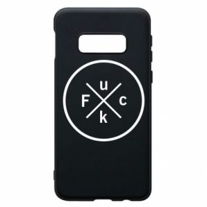 Phone case for Samsung S10e Fuck