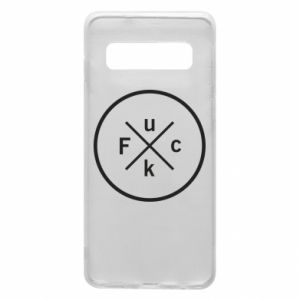 Phone case for Samsung S10 Fuck