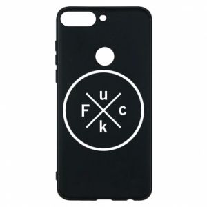 Phone case for Huawei Y7 Prime 2018 Fuck