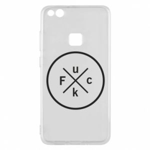 Phone case for Huawei P10 Lite Fuck