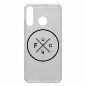 Phone case for Huawei P30 Lite Fuck