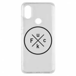 Phone case for Xiaomi Mi A2 Fuck
