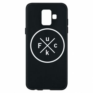 Phone case for Samsung A6 2018 Fuck