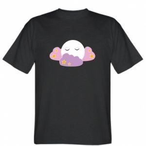 Koszulka męska Full moon in the clouds