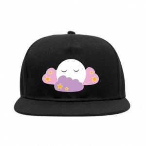 Snapback Full moon in the clouds