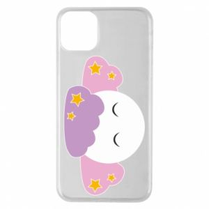 Etui na iPhone 11 Pro Max Full moon in the clouds