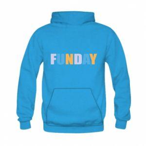 Bluza z kapturem dziecięca Funday
