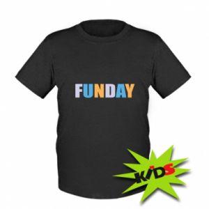 Dziecięcy T-shirt Funday