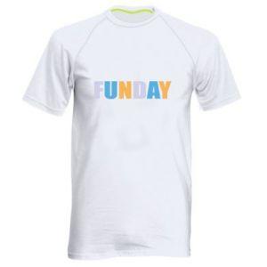 Męska koszulka sportowa Funday