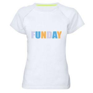 Damska koszulka sportowa Funday