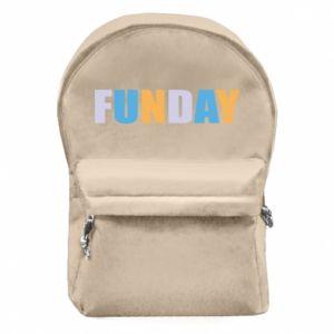 Plecak z przednią kieszenią Funday
